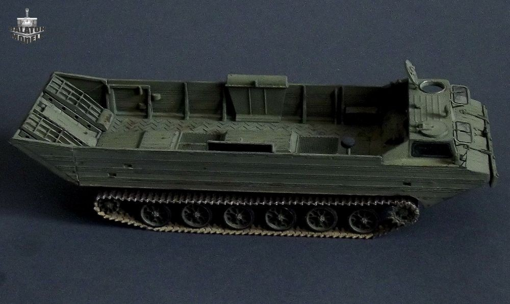 Balaton Model PTS-M amphibious vehicle