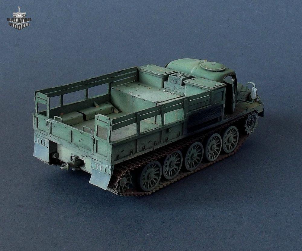 Balaton Model ATS-59 artillery tractor, early version