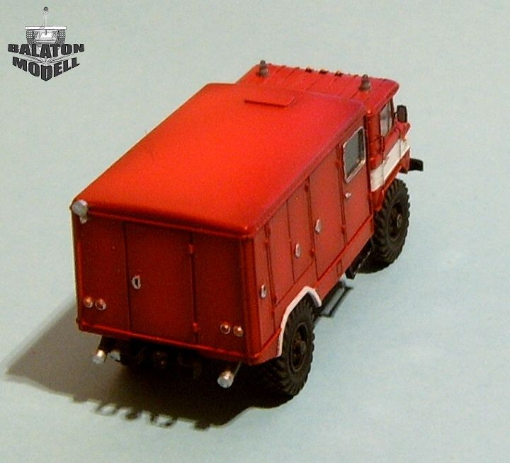 Balaton Model Gaz-66 fire fighting vehicle