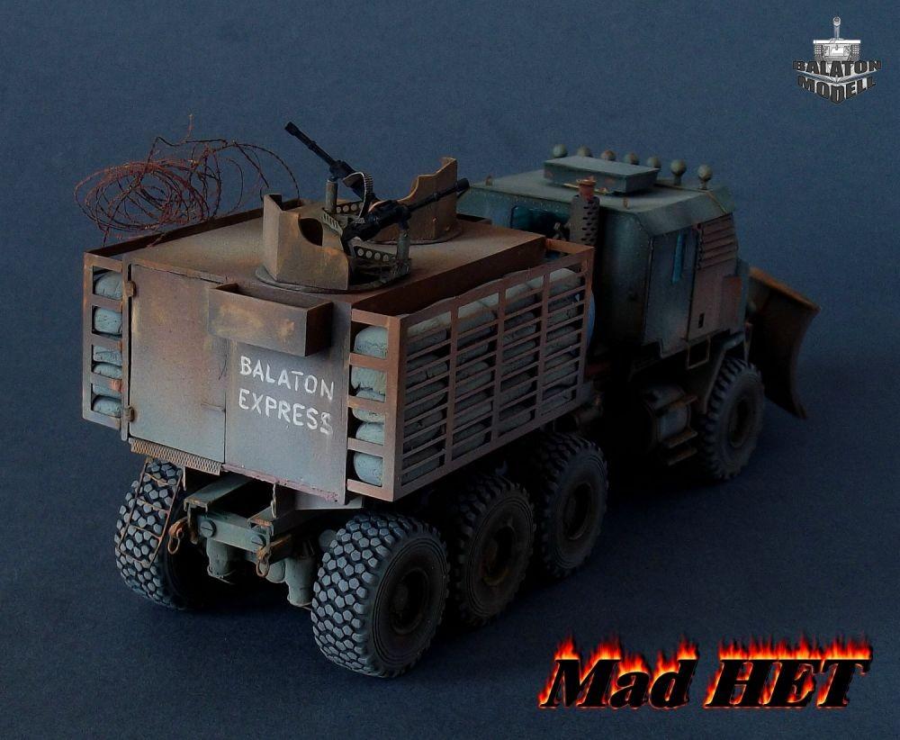 Balaton Model Mad HET post-apocalyptic truck