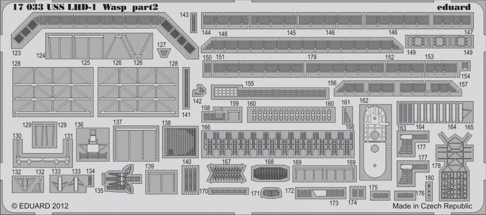 Eduard USS Wasp LHD-1 (Hobby Boss)