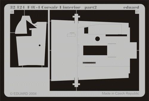 Eduard F4U-4 interior (Trumpeter)