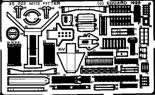 Eduard M-113 Fitter (Academy)