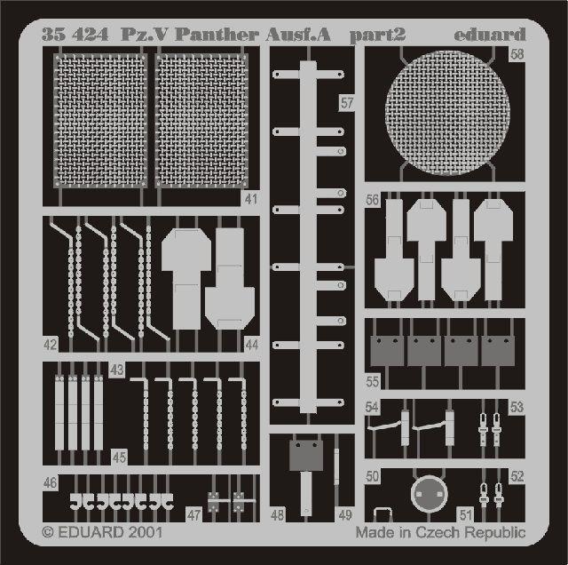 Eduard Panther Ausf.A (Tamiya)