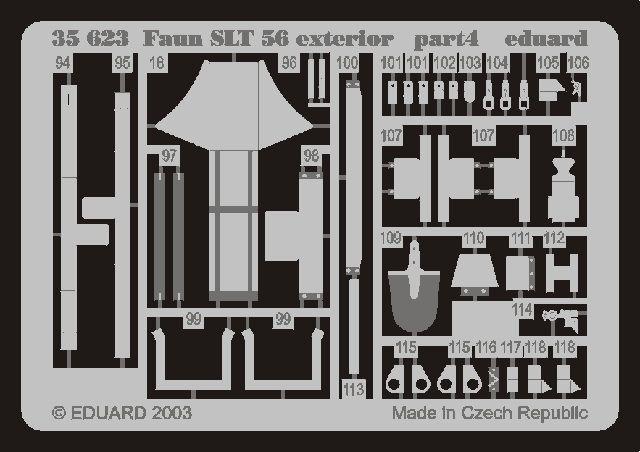 Eduard Faun SLT 56 exterior (Trumpeter)