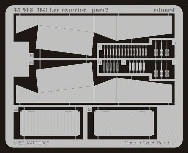Eduard M-3 exterior (Academy)