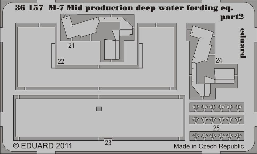 Eduard M-7 Mid production deep water fording eq. (Dragon)