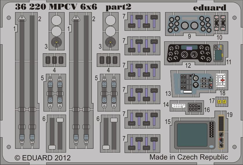 Eduard MPCV 6x6 (Bronco)