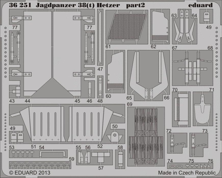 Eduard Jagdpanzer 38(t) Hetzer (Academy)