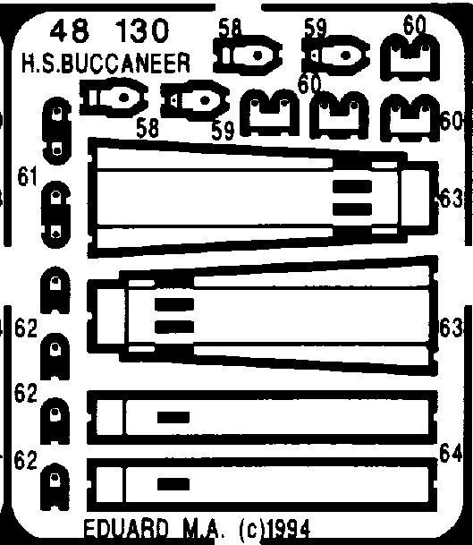 Eduard Buccaneer exterior (Airfix)