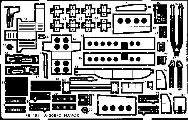 Eduard A-20B/C (Amt)