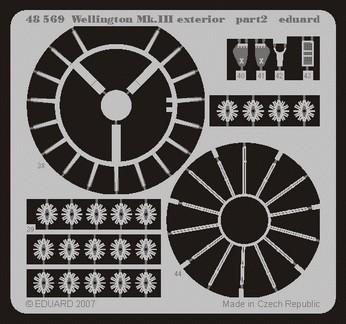 Eduard Wellington Mk.III exterior (Trumpeter)