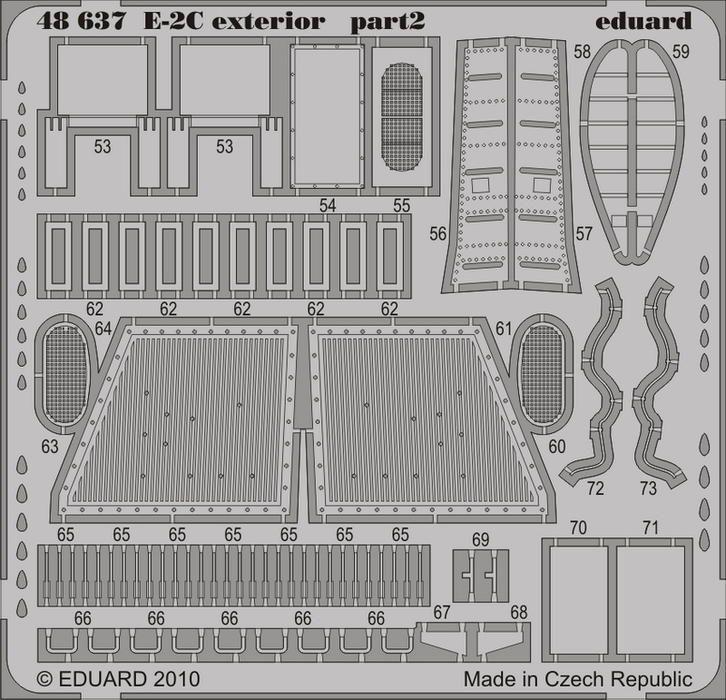 Eduard E-2C exterior (Kinetic)