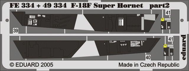 Eduard F/A-18F interior (Hasegawa)