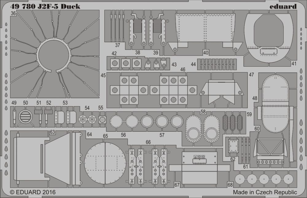 Eduard J2F-5 Duck (Merit)