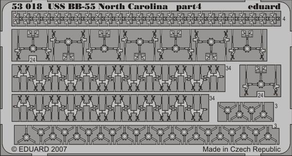 Eduard USS BB-55 North Carolina (Trumpeter)