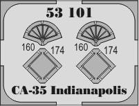 Eduard USS CA-35 Indianapolis (Academy)