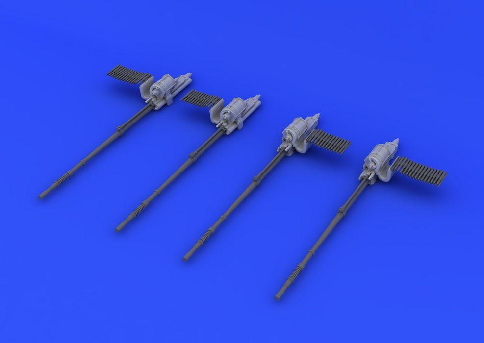 Eduard Typhoon guns (AIRFIX)
