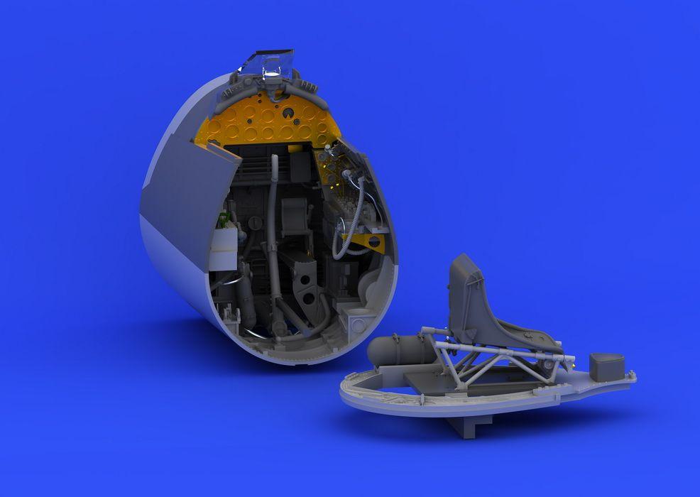 Eduard F4U-1 cockpit (TAMIYA)