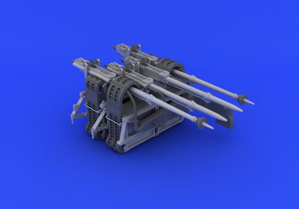 Eduard Mosquito FB Mk.VI gun bay (TAMIYA)