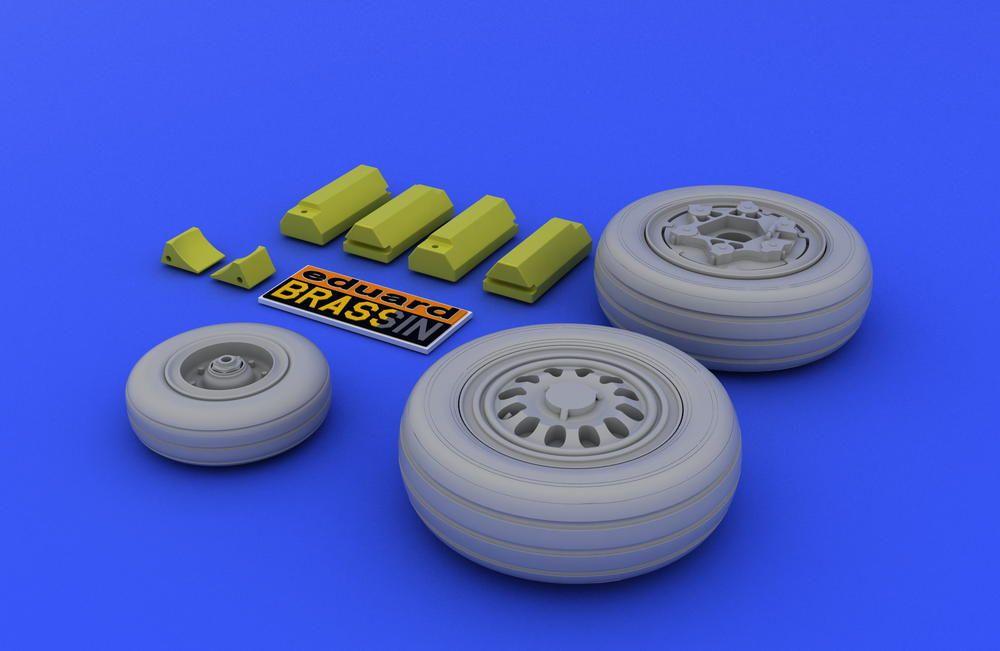 Eduard F-16 late wheels (TAMIYA)