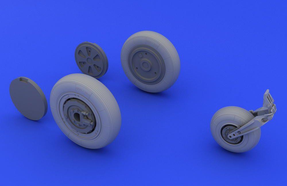 Eduard MiG-21 wheels (EDUARD)