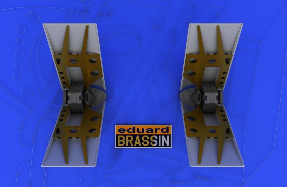 Eduard F-16 air brakes (TAMIYA)