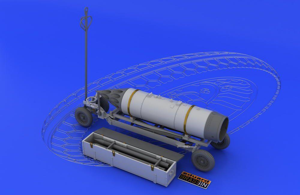 Eduard Rocket launcher B-8M1 and loading cart