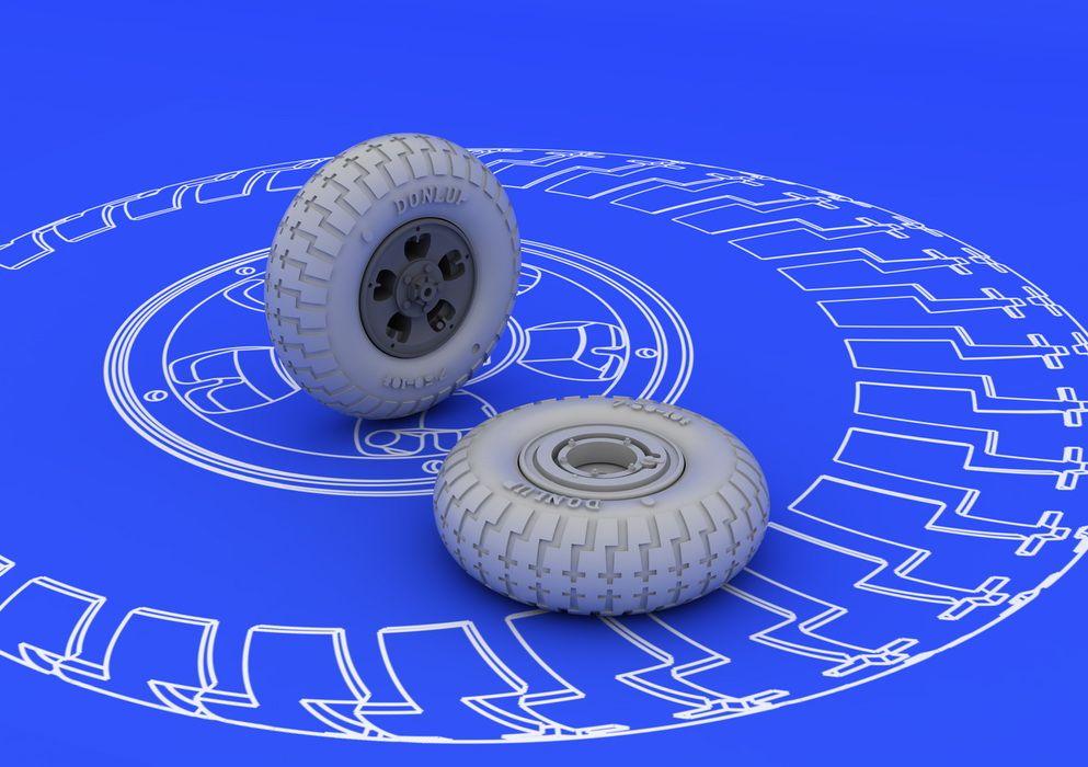 Eduard Spitfire wheels - 5 spoke (EDUARD)