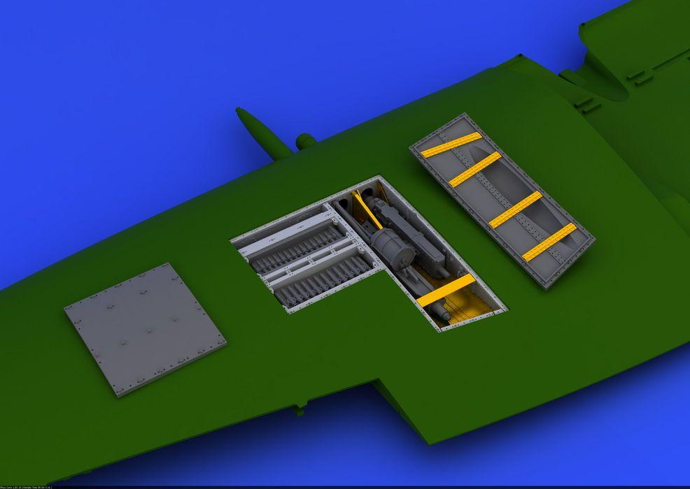 Eduard Spitfire Mk.IX gun bay (EDUARD)
