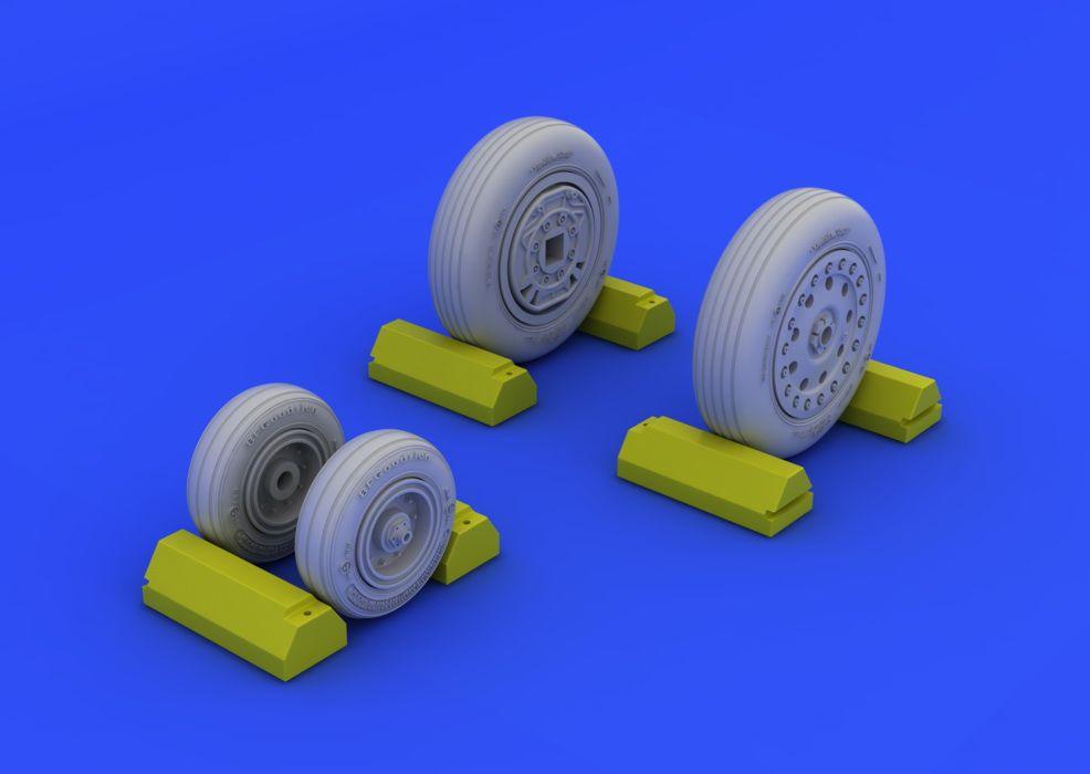 Eduard F-4B/N wheels (ACADEMY)