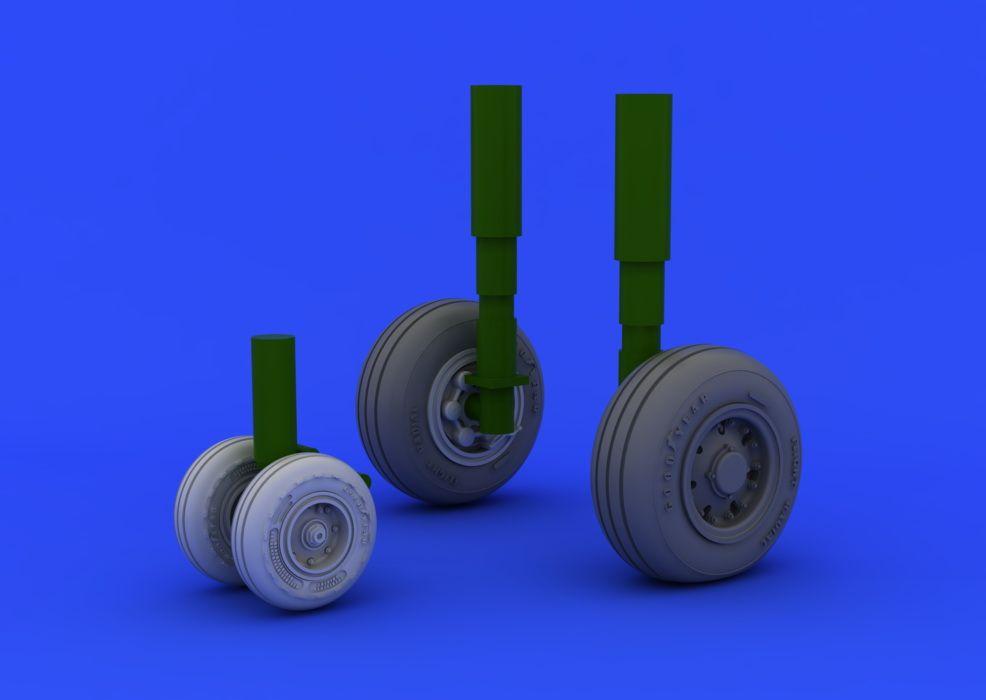 Eduard Tornado IDS wheels (REVELL)