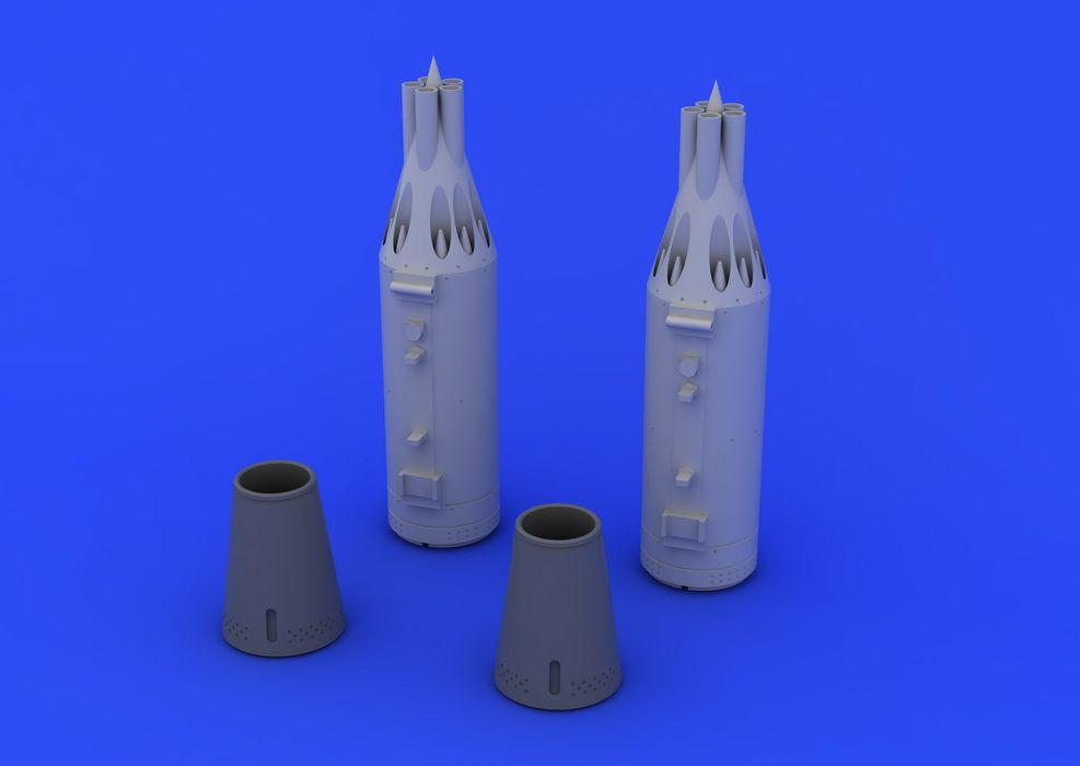 Eduard UB-16 rocket launcher  (2 pcs)