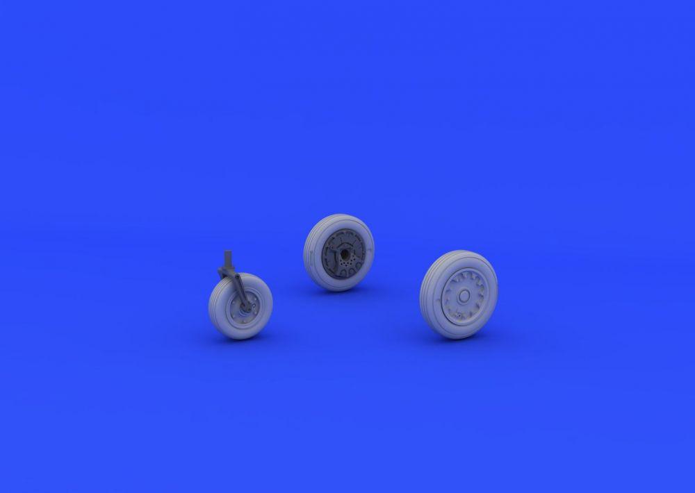 Eduard A-4E/F wheels (EDUARD/HASEGAWA)