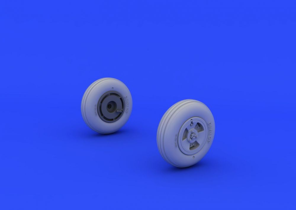 Eduard Spitfire Mk.XVI wheels - 3 spoke (EDUARD)