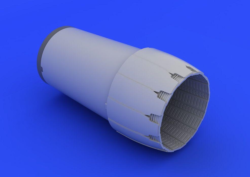 Eduard F-16CJ Block 50 exhaust nozzle (TAMIYA)