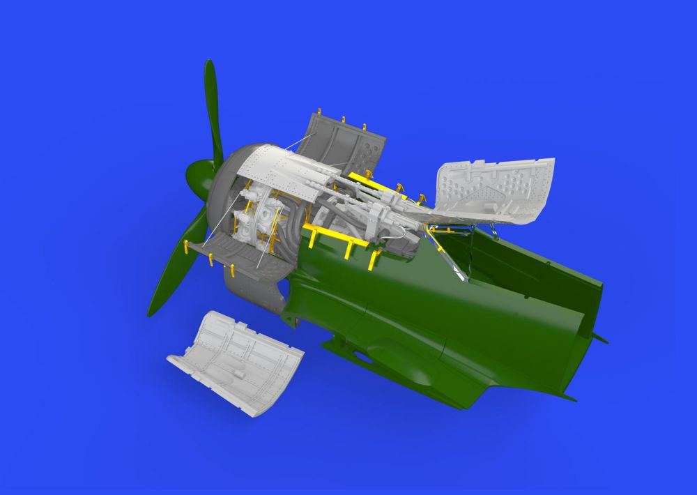 Eduard Fw 190A-5 engine & fuselage guns (Eduard)