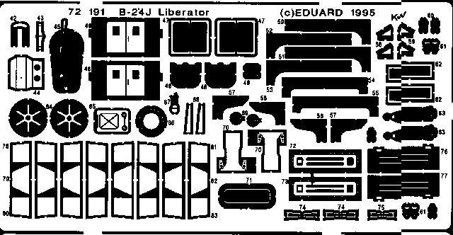 Eduard B-24J (Academy)