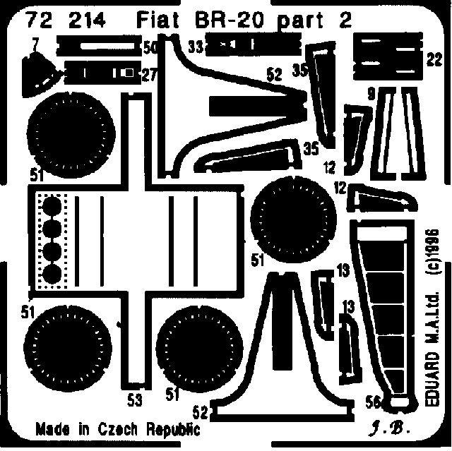 Eduard Fiat BR-20 (Italeri)