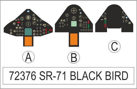 Eduard SR-71 Blackbird (Italeri)