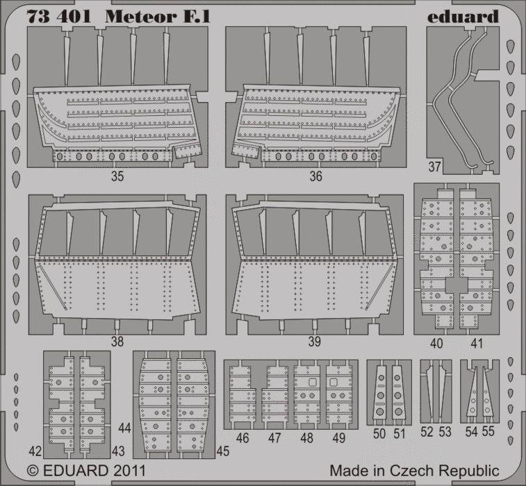 Eduard Meteor F.1 S.A. (Dragon, Cyber Hobby)