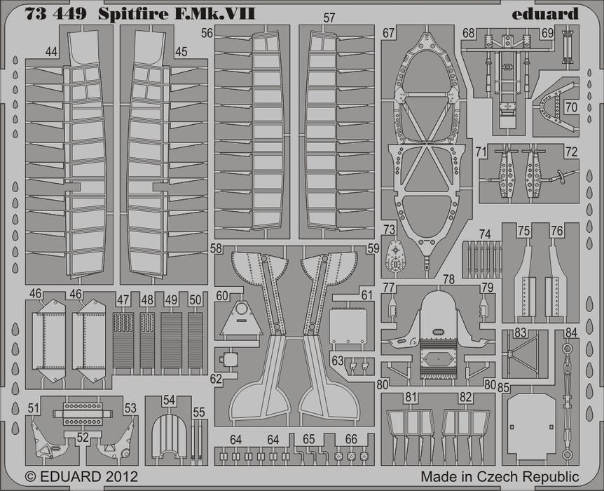 Eduard Spitfire F.Mk.VII (Italeri)