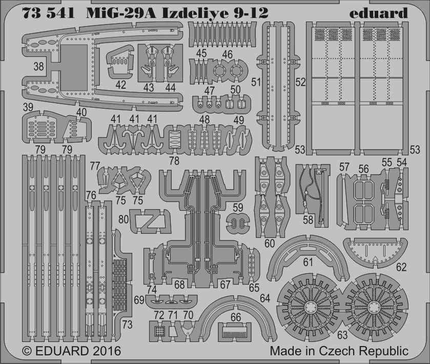 Eduard MiG-29A Izdeliye 9-12 (Trumpeter)