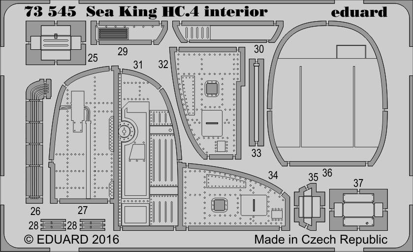 Eduard Sea King HC.4 interior (Airfix)