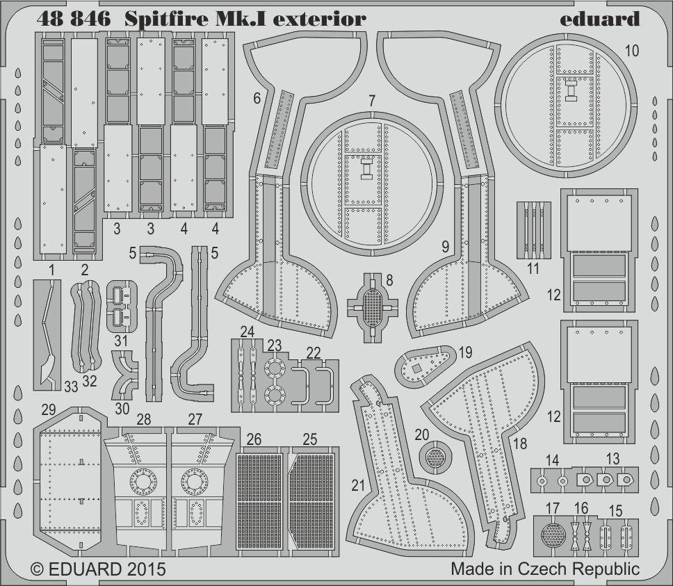 Eduard Big Ed Spitfire Mk. I (Airfix)