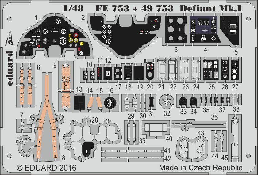 Eduard Big Ed DEFIANT Mk. I (Airfix)