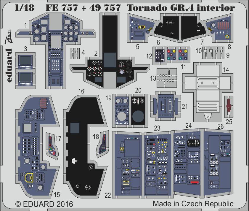 Eduard Big Ed TORNADO GR.4 (Revell)