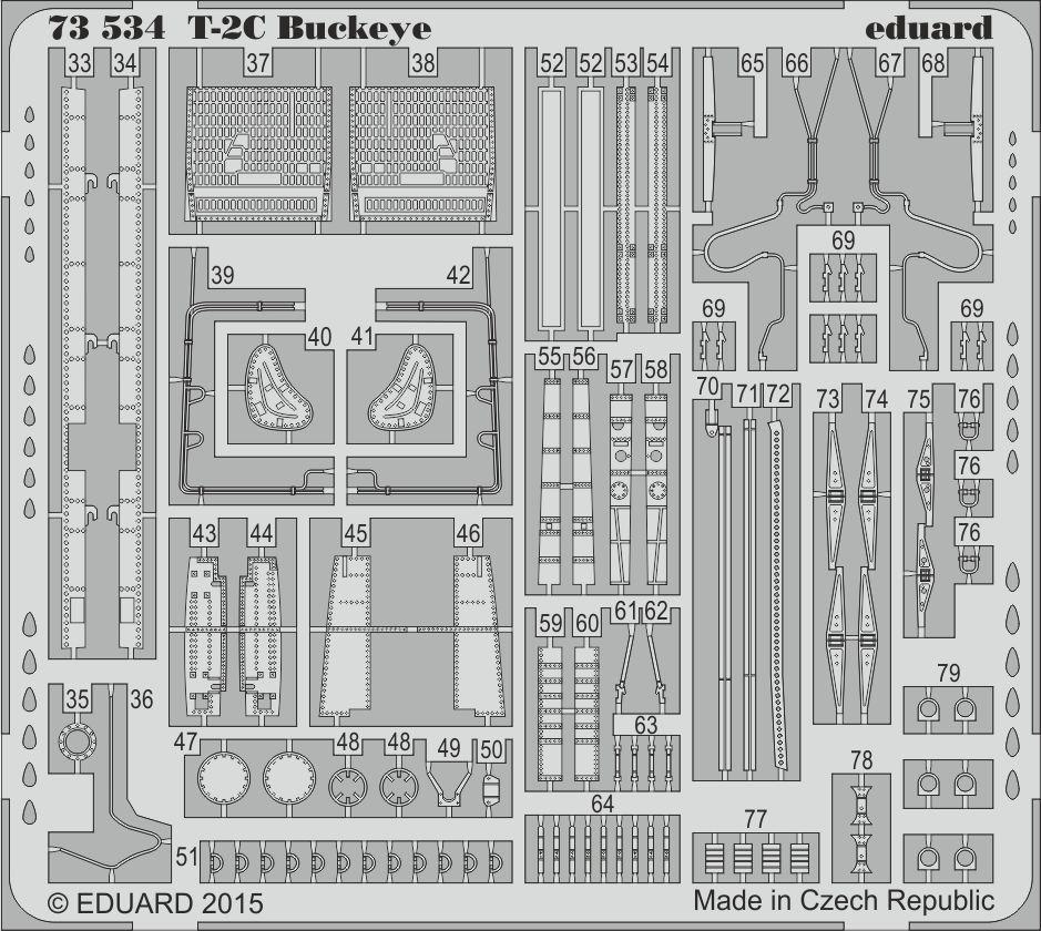 Eduard Big Ed T-2C BUCKEYE (Wolfpack)