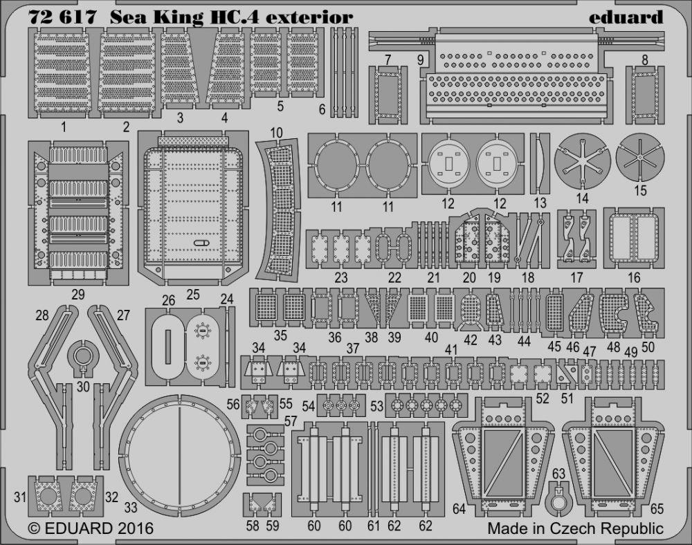 Eduard Big Ed SEA KING HC.4 (Airfix)
