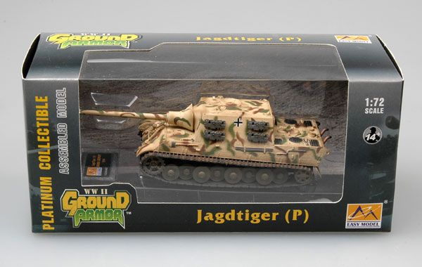 Easy Model Jagd Tiger (Porsche) 305001 Germany 1944